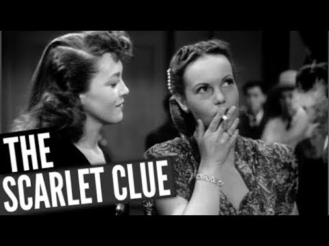 THE SCARLET CLUE // Full Comedy Movie // Sidney Toler & Mantan Moreland // English // HD // 720p