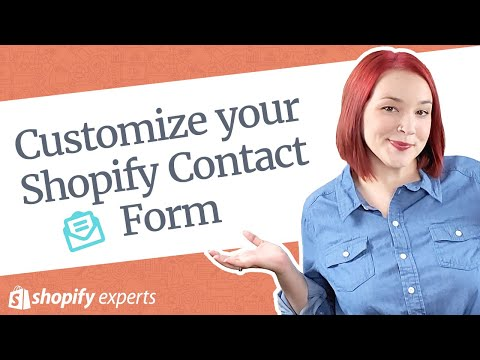 Shopify Custom Contact Forms | Add More Fields to your Contact Us Page thumbnail