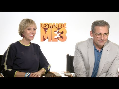 Steve Carell and Kristen Wiig interviewed by 8-year-old for DESPICABLE ME 3