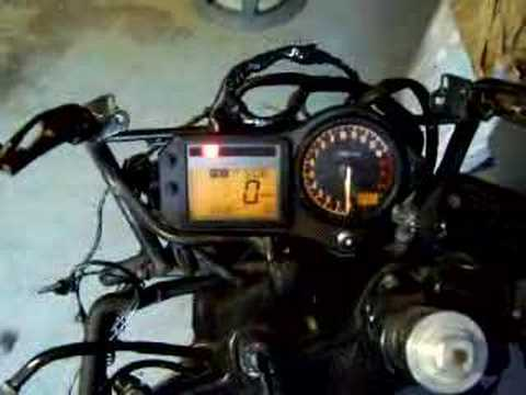 hqdefault honda cbr 600 f4 to f3 gauge swap youtube 97 cbr 600 f3 wiring diagram at crackthecode.co