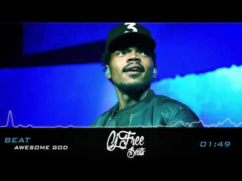 """Chance The Rapper Type Beat Gospel Hiphop """"Awesome God"""" {Produced By Cj Free}"""