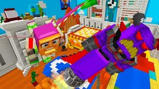 MINECRAFT TOY STORY | BUZZ LIGHTYEAR LEADS SOLDIERS TO RESCUE WOODY FROM ZURG | MINECRAFT XBOX