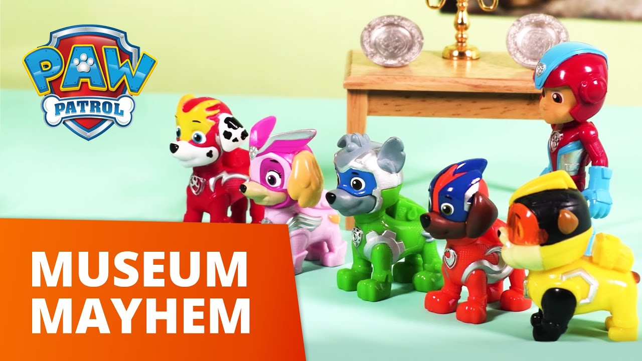 PAW Patrol | Museum Mayhem | Toy Episode | PAW Patrol Official & Friends