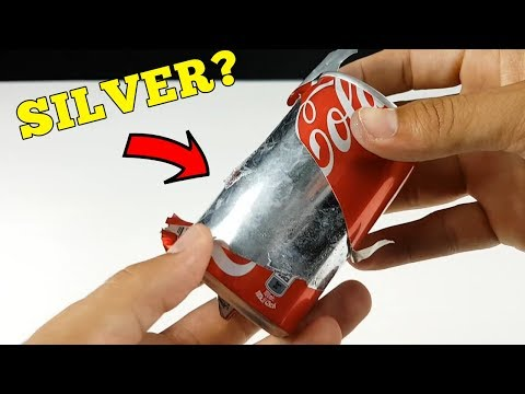 Amazing - Making A Solid Coca Cola Can From Gallium