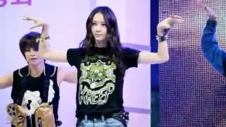 [Fancam] [Krystal Focus]120920 f(x)-Hot Summer @ Induk University Festival