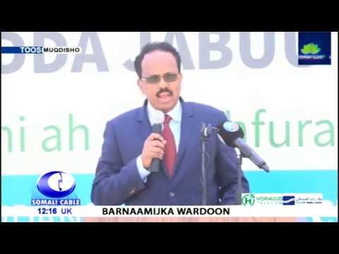 Barnaamijka Wardoon Iyo Wararkii Ugu Danbeeyay Dalka