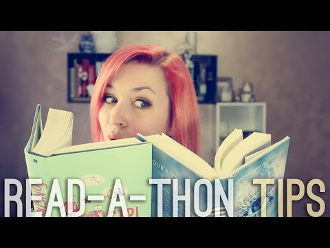 HOW TO READ-A-THON [Tips & Tricks]