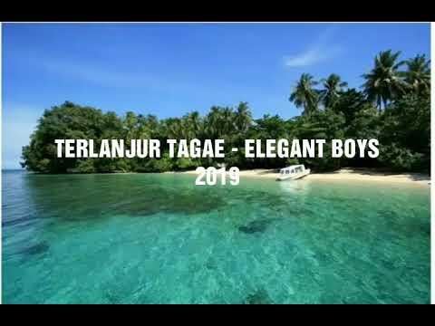 TERLANJUR TAGAE - ELEGANT BOYS 2019 (lyric)