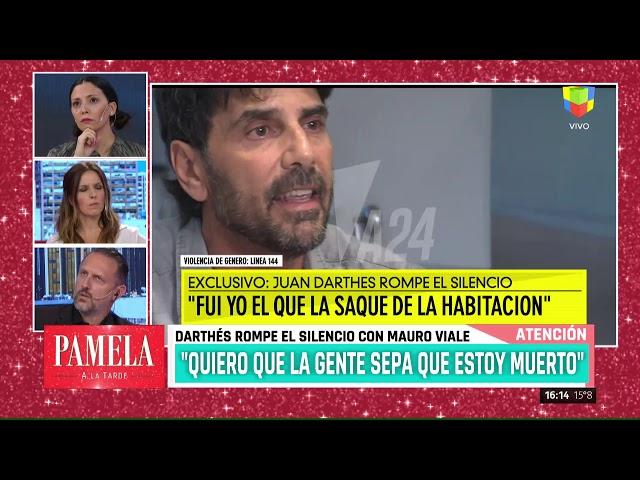 """Juan Darthés con Mauro Viale: """"Yo no violé a nadie, ella se me insinuó"""" (entrevista completa)"""