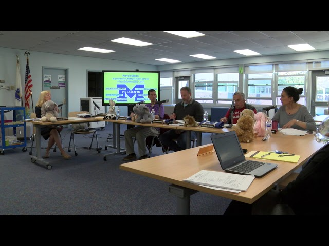 School Committee May 8, 2019