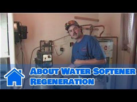 Water Softeners : About Water Softener Regeneration