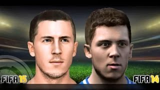 FIFA 15 vs FIFA 14 (Head to Head Faces) Thumbnail