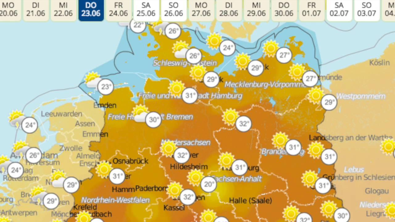 Wetter Donnerstag Deutschland