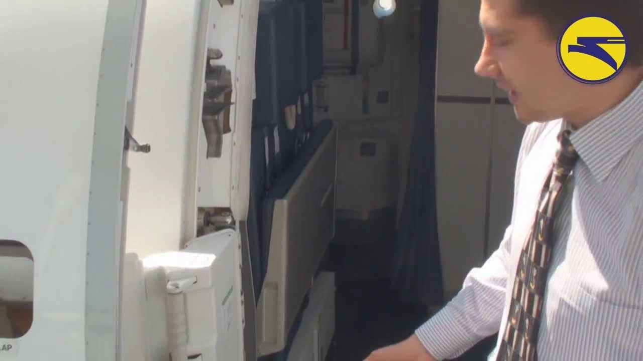 Embraer 190 Doors Youtube