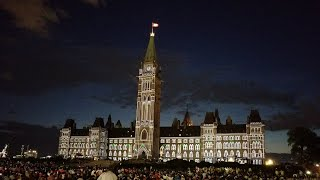 Northern Lights 2017 (Canada 150 edition, FULL)- Sound and light show on Parliament Hill, Ottawa thumbnail