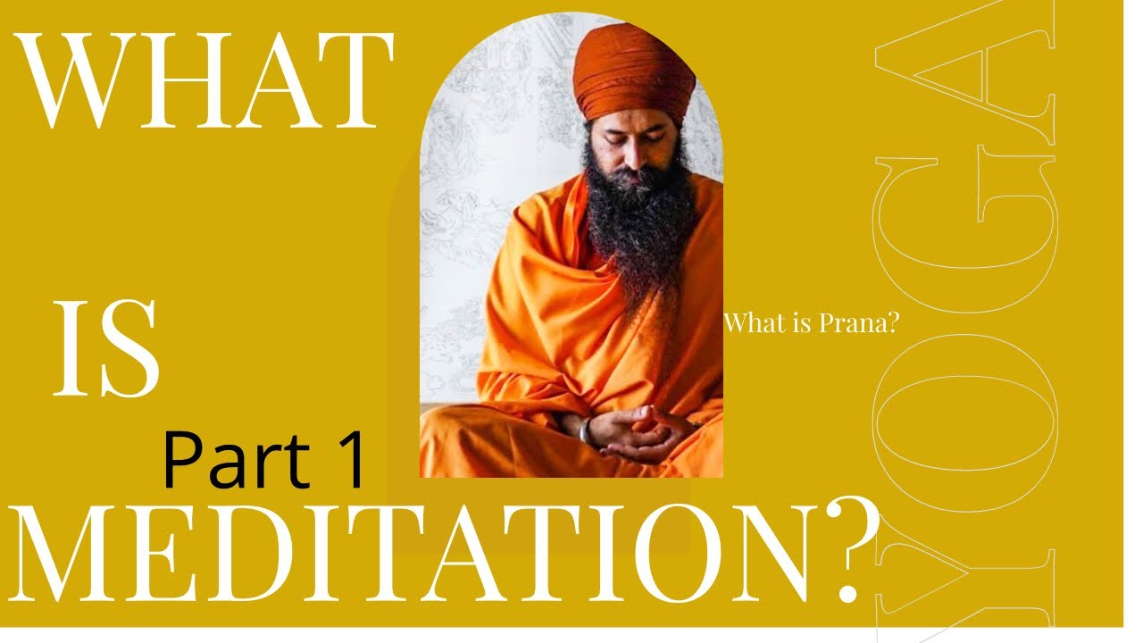 What is Meditation?   with Yogi Amandeep Singh   Prana   Guided Tantric Meditation
