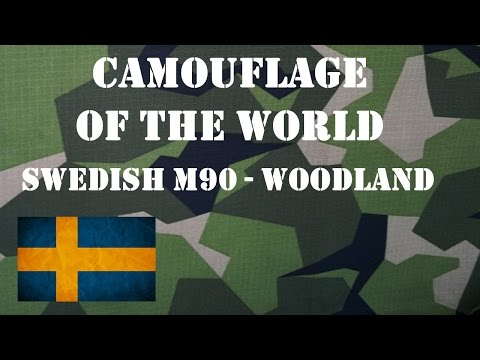Camouflage of the World: Swedish M90 Woodland