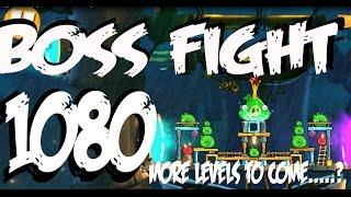 Angry Birds 2 Boss Pig Fight LEVEL 1080 Three Star Walkthrough