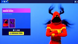 "*NEW* ""CLOAKED SHADOW"" Skin! NEW SKINS! Fortnite DAILY ITEM SHOP [December 28] YULETIDE RANGER SKIN!"