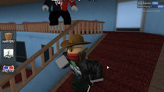 ROBLOX with NTC Game (Water) holding perk ghost solo and Troll grasskid817 (Murder Mystery 2) (TÂP3)