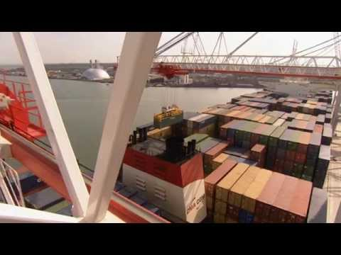 Opening of £100m new container berth, SCT5, Port of Southampton