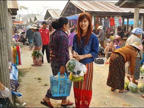 ตลาดเช้าชนเผ่ากาดเต่าของแปลกเยอะผู้คนน่ารัก  Kad Tao Morning Market lot of cute  tribes ▶20:18
