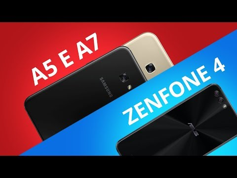 Zenfone 4 vs Galaxy A5 E A7 [Comparativo]
