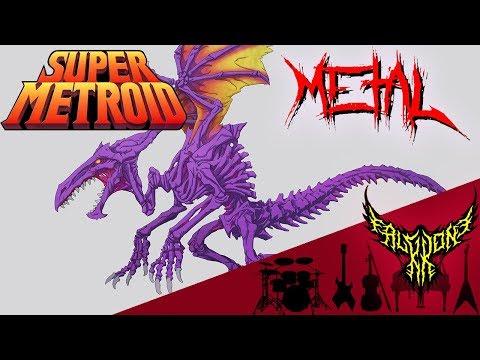 Super Metroid - Boss / Ridley 【Intense Symphonic Metal Cover】