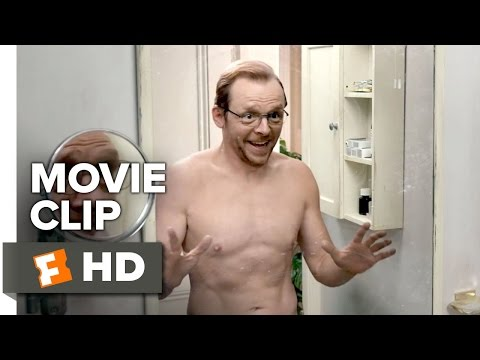 Absolutely Anything Movie CLIP - Mirror (2015) - Simon Pegg, Kate Beckinsale Movie HD