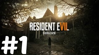 Resident Evil 7 - Gameplay Demo Walkthrough Part 1 - Beginning Hour PS4 [1080p 60fps]