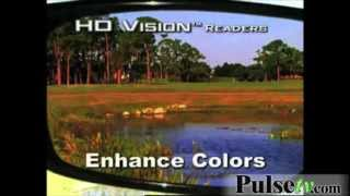 HD Vision Readers - UV Protection and Built-in Bifocal Lens (2-Pack)
