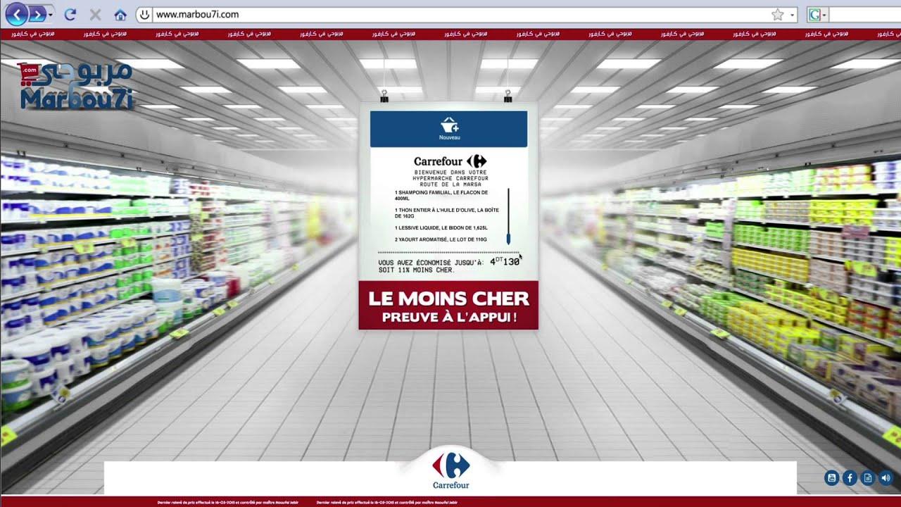 Carrefour le moins cher, preuve à l'appui !