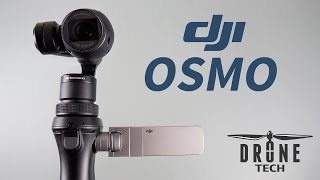 DJ  OSMO Camera settings and test footage