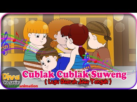 Cublak Cublak Suweng | Lagu Daerah Jawa Tengah | Diva bernyanyi | Diva The Series Official
