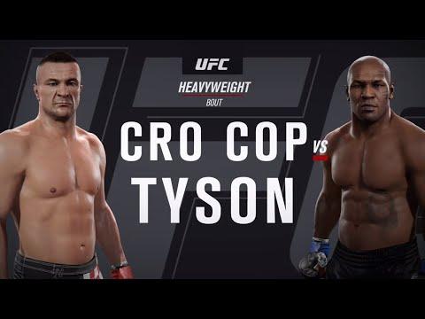 Тайсон Vs Мирко Крокоп ( Майк Твйсон против Мирко Крокоп ) UFC 2 .