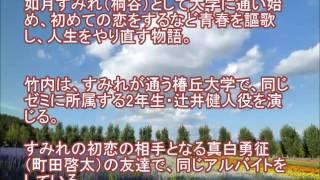 『下町ロケット』出演の竹内涼真が、1月連ドラ桐谷美玲主演の『スミカス...