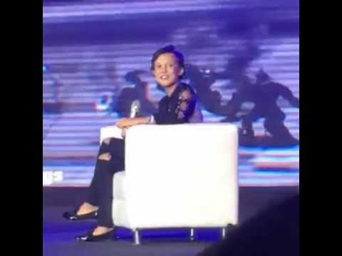 Stranger Things' Eleven a.k.a. Millie Bobby Brown at Asia Pop ComiCon Interviewed by Delamar