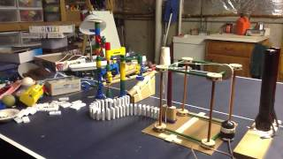 Rube Goldberg Ping-Pong Ball in Cup