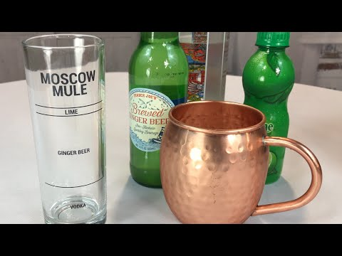 Moscow Mule Recipe Glass by Drinking Modern review