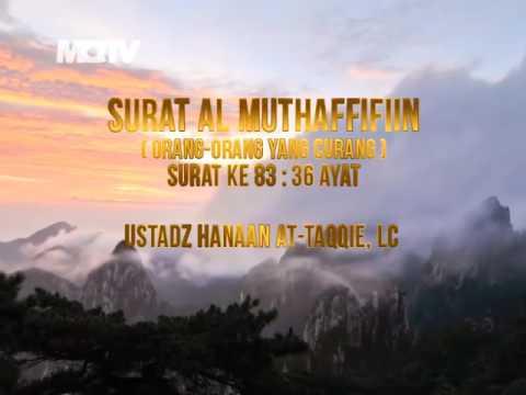 ustadz-tengku-hanan-attaki-(shift)---murottal-al-muthaffifiin