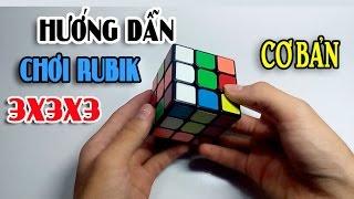 [Hướng dẫn] Giải Rubik 3x3 cho người mới bắt đầu !!!