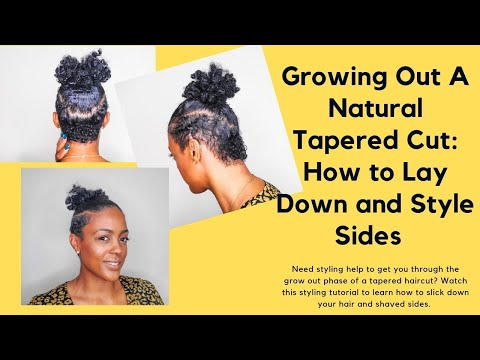 how-to-grow-tapered-natural-hair-&-shaved-sides -how-to-lay-edges-&-shaved-sides