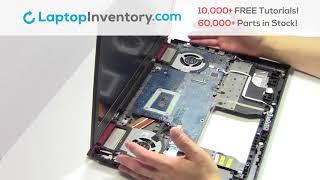 dell Inspiron 7567 Fan Replacement - Heatsink Motherboard Installation Guide 7566 7778 P65F