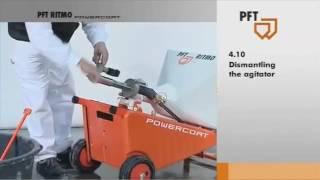 MACHINE A PROJETER LES ENDUITS SECS 45L 220V vidéo