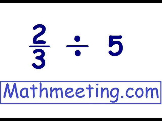 3 ways to divide a whole number with a fraction wikihow ccuart Choice Image