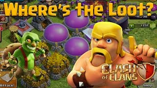 Clash of Clans - Where's The Loot? - Best Farming League Revealed for Barch / GiBarch April 2016