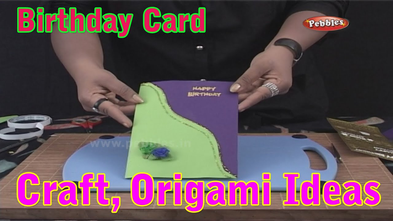 Birthday Card Learn Craft For Kids