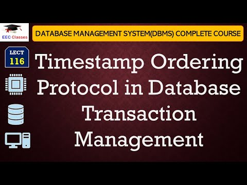 Timestamp Ordering Protocol in Hindi and English with all Rules