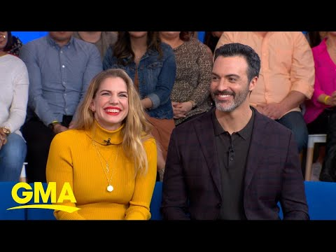 'Veep's Anna Chlumsky and Reid Scott on the final season of the comedy hit l GMA