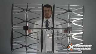 Assembly Instructions for the HDB8X 8-Bay Bowtie TV Antenna from Xtreme Signal